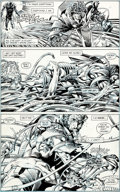 Original Comic Art:Panel Pages, Barry Smith and Bob Layton Iron Man #232 Page 19 OriginalArt (Marvel, 1988)....