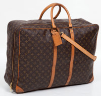 Louis Vuitton Classic Monogram Canvas Sirius 70 Soft-Sided Suitcase with Shoulder Strap