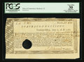 Colonial Notes:Connecticut, Connecticut Treasury Office June 1, 1780. Hole Cancel PCGS ApparentVery Fine 30.. ...