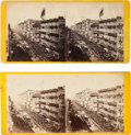 Photography:Stereo Cards, Abraham Lincoln: New York City Funeral Stereo Views. ...