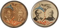 McKinley & Roosevelt and Bryan & Stevenson: Matched Pair of Jugates
