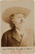 "Photography:Cabinet Photos, William F. "" Buffalo Bill"" Cody: Cabinet Card...."