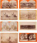 Photography:Stereo Cards, Stereoviews: Eight Salt Lake City Scenes.... (Total: 8 )