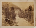 Photography:Official Photos, William Henry Jackson: A Fine Large Albumen Photo. ...