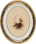 Photography:Studio Portraits, Franklin Pierce: Framed Presentation Photograph. ...