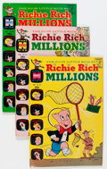 Silver Age (1956-1969):Humor, Richie Rich Millions File Copy Long Box Group (Harvey, 1969-82) Condition: Average NM-....