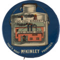 "Political:Pinback Buttons (1896-present), William McKinley: The Classic 2 1/8"" ""Do You Smoke?"" Factory Pin...."