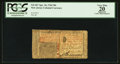 Colonial Notes:New Jersey, New Jersey April 16, 1764 30s PCGS Apparent Very Fine 20.. ...