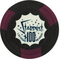 Miscellaneous:Gaming Chips, Las Vegas Casino Chips: Stardust $100 Chip....