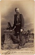 Photography:Cabinet Photos, George Armstrong Custer: Cabinet Card by Mora, One of the Last Photos Taken of Him. ...