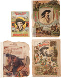 "Miscellaneous:Ephemera, Buffalo Bill's Wild West: A Group of Ephemera including Two""Programmes,"" a Courier, and a Souvenir Songbook. ... (Total: 3Items)"