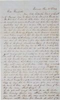 "Western Expansion:Goldrush, [California Gold Rush]. Constant Luce Autograph Letter Signed""Constant Luce.""..."