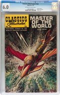 Silver Age (1956-1969):Classics Illustrated, Classics Illustrated #163 Master of the World - Original Edition(Gilberton, 1961) CGC FN 6.0 Off-white to white pages....