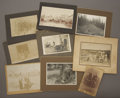 Photography:Cabinet Photos, LOT OF EIGHT WESTERN AND MINER PORTRAIT VIEWS - circa 1890-1910. This is a great lot featuring nine nice portraits of Wester...