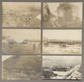 Photography:Cabinet Photos, MISCELLANEOUS LOT OF PHOTO POSTCARDS OF WESTERN TOWNS. Six photopostcards depicting town and scenic views of various Weste...(Total: 1 Item)