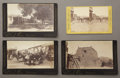 Photography:Cabinet Photos, FOUR IMAGES OF SANTA FE, NEW MEXICO. Three beautiful large cabinetsby D.B. Chase and one stereoview of Santa Fe. Cabinet im... (Total:1 Item)