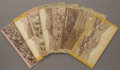 Photography:Stereo Cards, EIGHT SCENIC STEREOVIEWS OF WESTERN MINING TOWNS. This lot features a collection of eight stereoviews of Western mining town... (Total: 1 Item)