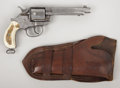 "Western Expansion:Cowboy, COLT MODEL 1878 DOUBLE ACTION REVOLVER - Serial Number 35406, circa1890. 5½"" barrel in .44-40 caliber. Barrel roll marked ""... (Total:2 Item)"