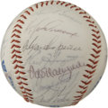 Autographs:Baseballs, 1984 Los Angeles Dodgers Team Signed Baseball. At total of twentyfrom Tommy Lasorda's 1984 Dodgers have penned their names...