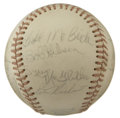 Autographs:Baseballs, 1973 St. Louis Cardinals Team Signed Baseball. Seventeen members ofthe 1973 St. Louis Cardinals have added their signature...