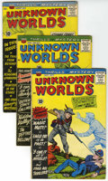 Silver Age (1956-1969):Horror, Unknown Worlds Group (ACG, 1960-62) Condition: Average VG....(Total: 6 Comic Books)