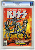 Magazines:Miscellaneous, Marvel Comics Super Special #1 (Marvel, 1977) Condition: VF+ 8.5White pages. Featuring the rock group Kiss. The ink used to...