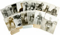 Football Collectibles:Photos, 1920's Vintage College Football Photographs Lot of 15. Anothergroup of classic image from college football stars of the 19...