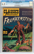 Golden Age (1938-1955):Horror, Classics Illustrated #26 Frankenstein HRN 60 (Gilberton, 1949) CGCFN+ 6.5 Off-white to white pages....