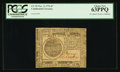 Colonial Notes:Continental Congress Issues, Continental Currency November 2, 1776 $7 PCGS Choice New 63PPQ.....