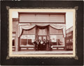 Photography:Cabinet Photos, Roosevelt & Fairbanks: Storefront Campaign Posters Mounted Silver Print. ...