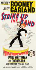 "Movie Posters:Musical, Strike Up the Band (MGM, 1940). Three Sheet (41"" X 78.5"") Style A.. ..."