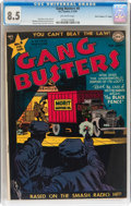 """Golden Age (1938-1955):Crime, Gang Busters #8 Davis Crippen (""""D"""" Copy) pedigree (DC, 1949) CGC VF+ 8.5 Off-white pages...."""