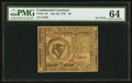Colonial Notes:Continental Congress Issues, Continental Currency July 22, 1776 $8 PMG Choice Uncirculated 64.....