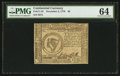 Colonial Notes:Continental Congress Issues, Continental Currency November 2, 1776 $8 PMG Choice Uncirculated 64.. ...