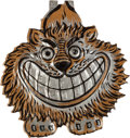 Political:Pinback Buttons (1896-present), Theodore Roosevelt: Grinning Lion Welcome Teddy Tab....