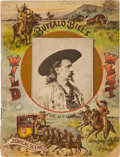 Miscellaneous:Ephemera, Buffalo Bill's Wild West: 1892 Programme. ...