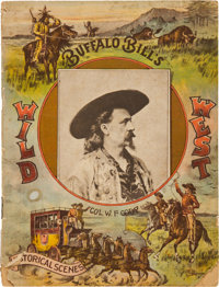 Buffalo Bill's Wild West: 1892 Programme
