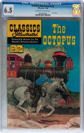 Silver Age (1956-1969):Adventure, Classics Illustrated #159 The Octopus (Gilberton, 1960) CGC FN+ 6.5 Off-white to white pages....