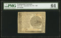 Colonial Notes:Continental Congress Issues, Continental Currency September 26, 1778 $60 PMG Choice Uncirculated64.. ...