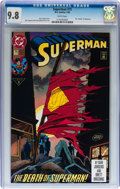 Modern Age (1980-Present):Superhero, Superman #75 Group of 3 (DC, 1993) CGC NM/MT 9.8 White pages....(Total: 3 Comic Books)