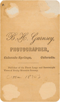 PhotographyCDVs Carte De Visite Picturing Kicking Bird
