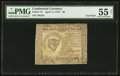 Continental Currency April 11, 1778 $8 PMG About Uncirculated 55 Net