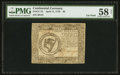 Colonial Notes:Continental Congress Issues, Continental Currency April 11, 1778 $8 PMG Choice AboutUncirculated 58 Net.. ...