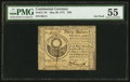 Colonial Notes:Continental Congress Issues, Continental Currency May 20, 1777 $30 PMG About Uncirculated 55.....