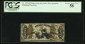 Fractional Currency:Third Issue, Fr. 1357aSP 50¢ Third Issue Justice PCGS Choice About New 58.. ...