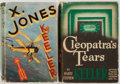 Books:Science Fiction & Fantasy, Harry Stephen Keeler. Cleopatra's Tears. New York E.P. Dutton & Company, 1940. and X. Jones. London and Melb... (Total: 2 Items)