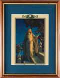 Art:Illustration Art - Mainstream, Maxfield Parrish: Enchantment Color Print [1925], excisedfrom an Edison Mazda Calendar,...