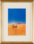 Art:Illustration Art - Mainstream, Maxfield Parrish: The Great Southwest: The Desert Without Water Color Print,...