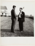 Political:Small Miscellaneous (1896-present), John F. Kennedy: Jacques Lowe Post-Election Photograph....