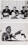 Political:Small Paper (1896-present), John F. Kennedy: Two Jacques Lowe Photographs. ... (Total: 2 Items)